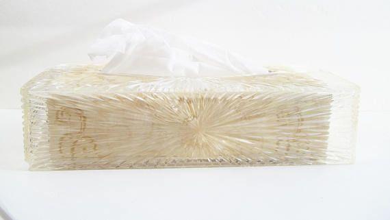 Vintage Celebrity Tissue Box Holder Retro