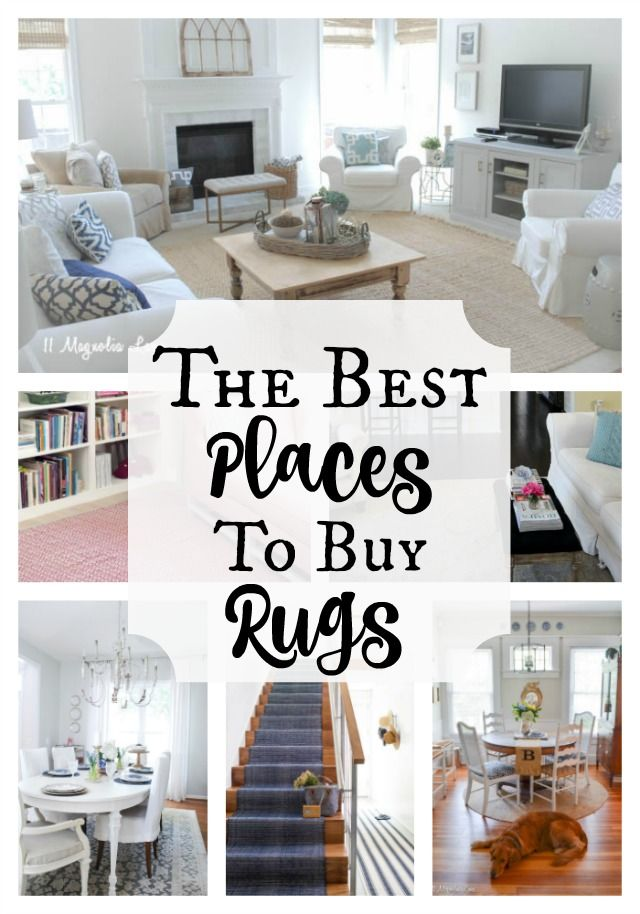 Rugs Are The Perfect Piece To Anchor A Room, But They Can Be So Pricey