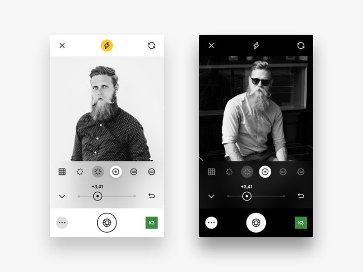 Hey! Another little piece of my VSCO app redesign.  Yesterday on Twitter I posted a picture that shows the use of Live Adjustments in the Camera UI. But after a little while I thought some of the t...