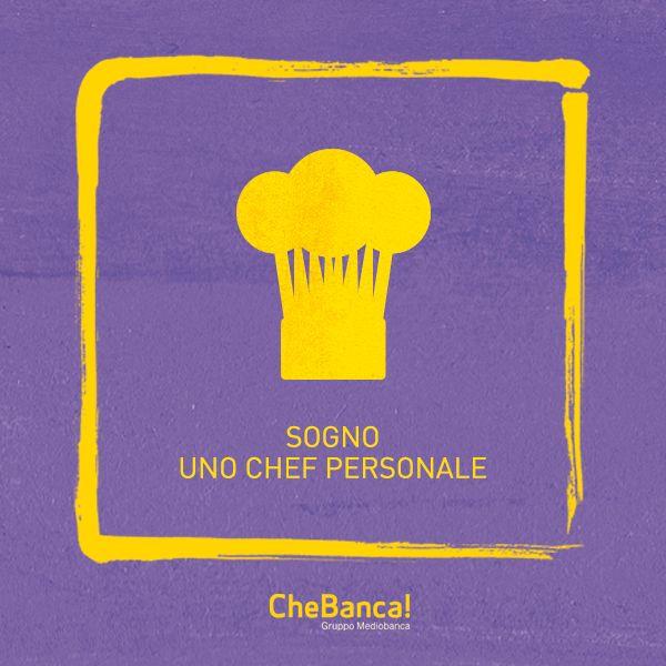 Lo chef personale #sogno