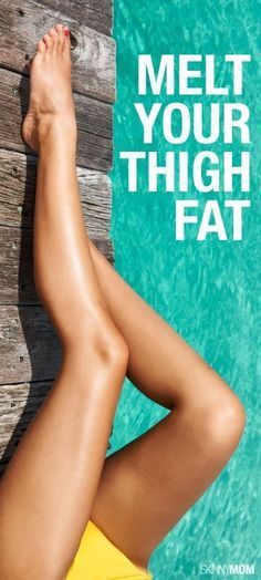 #fitness, #thighworkout ~  Say goodbye to your thunder thighs!