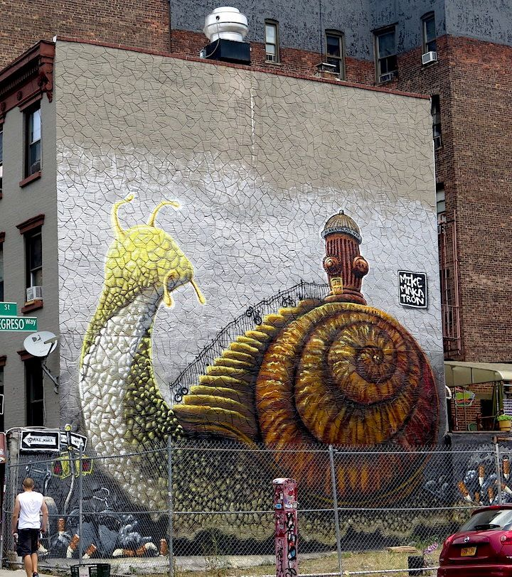 A Feast of Beasts on NYC Streets, Part IV: Eelco Virus, Ramon Brito, Eder Muniz, Mr. Prvrt, Mike Makatron, Dan Witz and Never