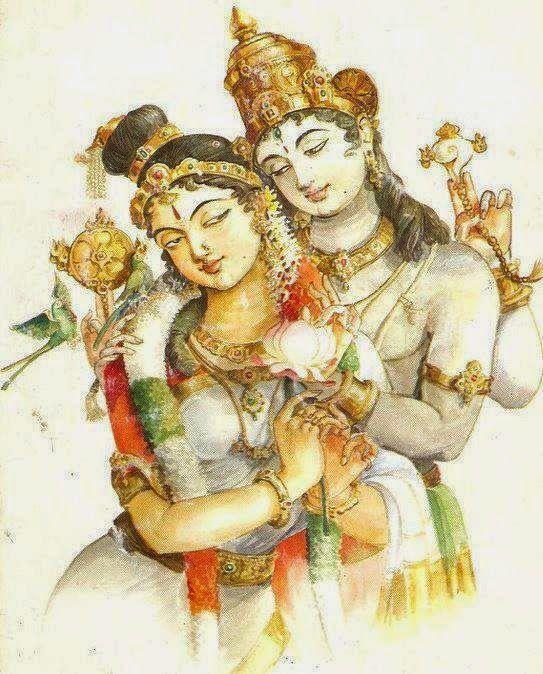 Vishnu and Andal                                                                                                                                                                                 More