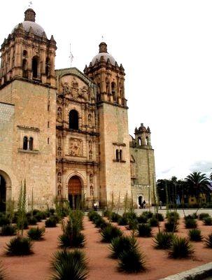 Temple of Santo Domingo in Oaxaca