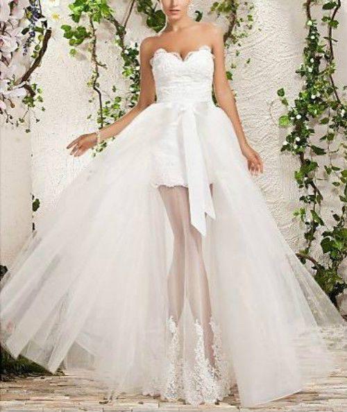 2013 kurzes Brautkleid Hochzeitskleid Abendkleid Ballkleid Gr.34/36/38/40+++