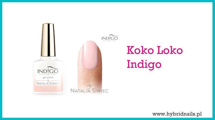 Bladoróżowy wyrafinowany kolor lakieru do paznokci koko loko Indigo jest idealny jako ozdoba dłoni panny młodej, ale może być też stosowany na co dzień