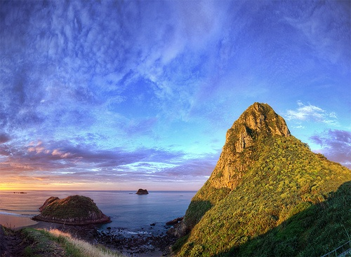 Paritutu Rock, New Plymouth, New Zealand