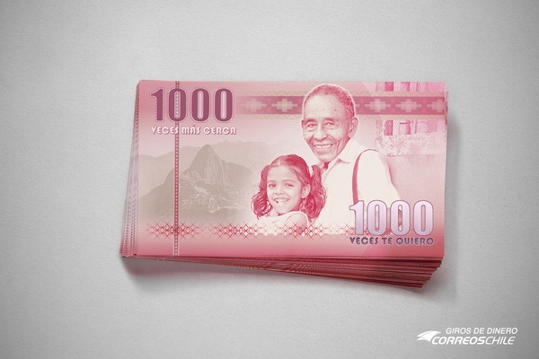 Money Transfer, Correos Chile.