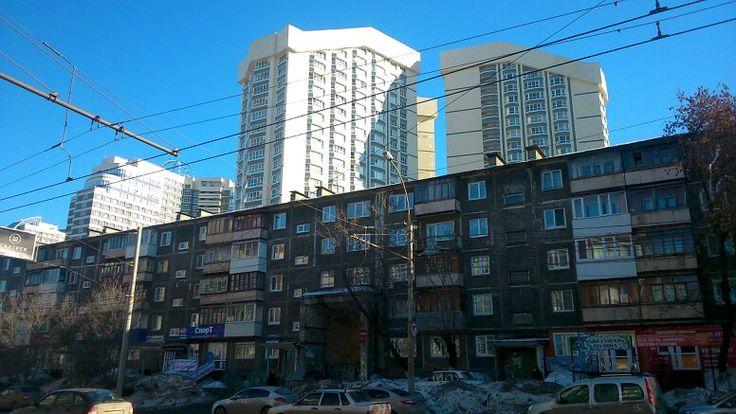 Пермь-город контрастов
