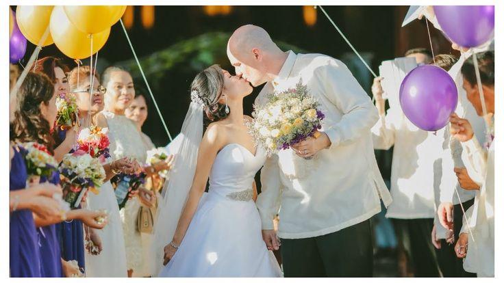Philippine Wedding Video Ceremony - YouTube