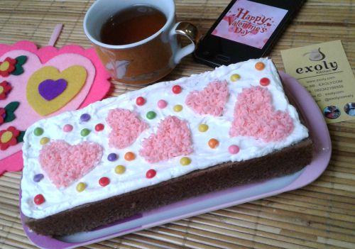 Brownies Kukus Valentine Hari Kasih Sayang