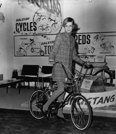 The graphics. The furniture. The bike. Her style. What isn't here to be inspired by...