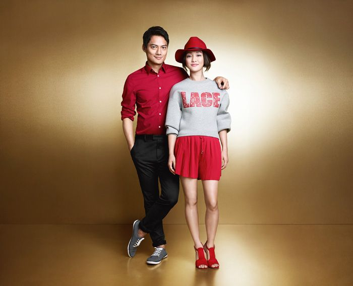 Zhou Xun & Archie Kao for H&M Chinese New Year 2015 - nitrolicious.com