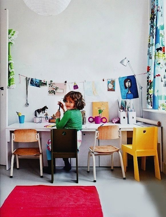 7 Different and Cute Kid's Workspaces - Petit & Small