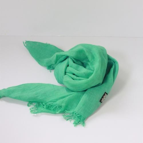 LINEN SHAWL by Tikau (green)
