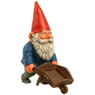 Ceiling gnome world domination