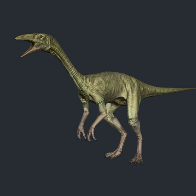 3D Model Compy dinosaur c4d, obj, 3ds, fbx, ma, lwo 94214