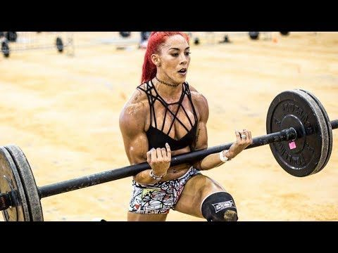 Explosive Crossfit Hannah Eden - Very strong and beautiful girl - YouTube