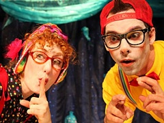 Justin Zsebe M.F.A. '05.   Shakespeare for kids? It's ideal entertainment, four shows served up by some talented UCLA alumni involved in the L'Enfant Terrible theater company and performed at the Bootleg Theater during the troupe's Family Festival of Fun.