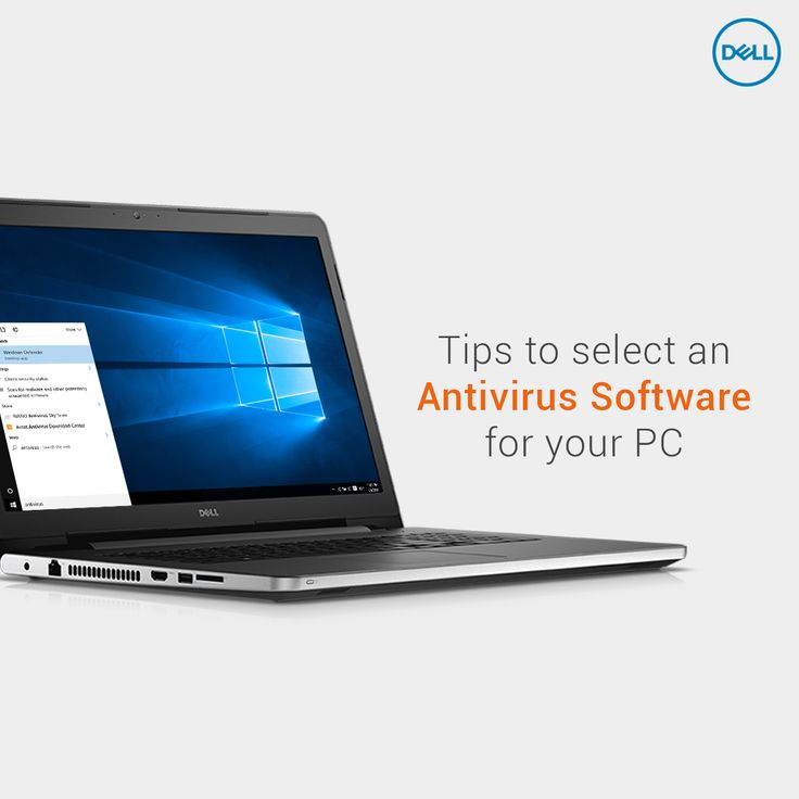 Useful Information about the Third Party Antivirus programs that ship with a Dell PC  #DellTips