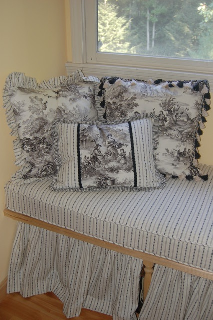 45 Best Ticking And Toile Images On Pinterest