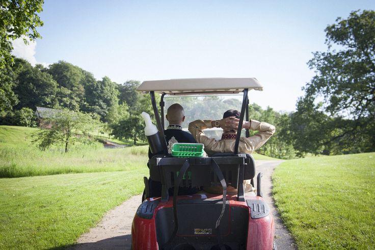 Hijacking a Golf Caddy! #asianwedding #weddingphotography
