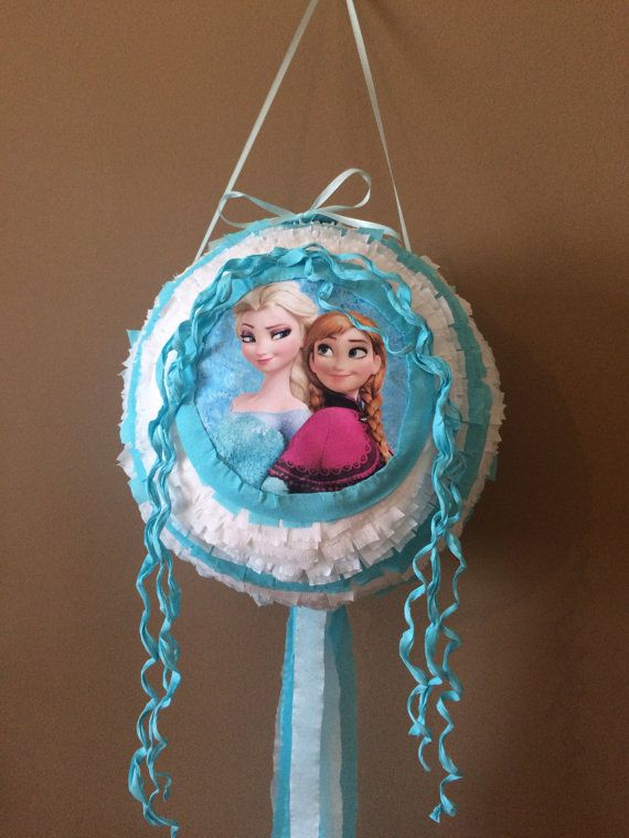 Pinata Frozen Elsa by BabalinaWorld on Etsy