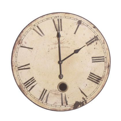 French Vintage Wall Clocks