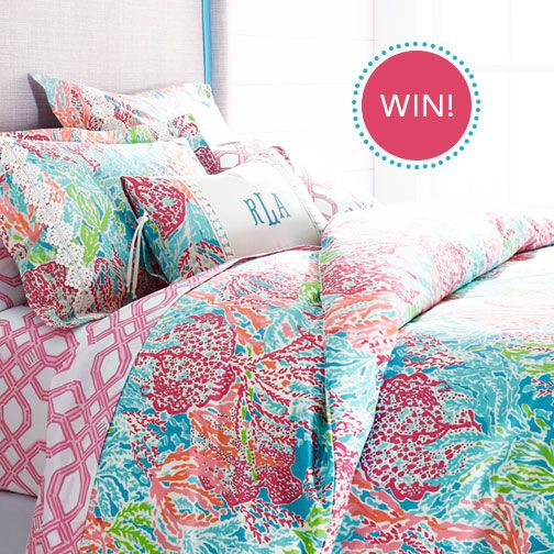 Win Let S Cha Cha Print Lilly Pulitzer Bedding