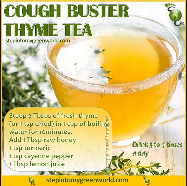 ☛ An alternative to over the counter sugar-filled cough syrups. This is a potent cough buster and will help relieve cough associated with #bronchitis and #flu. FOR A COUGH BUSTER THYME TEA REMEDY: http://www.stepintomygreenworld.com/greenliving/greenfoods/cough-buster-thyme-tea/ ✒ Share | Like | Re-pin | Comment   #StepIntoMyGreenWorld with #Love and #Gratitude  #Empowerment #Hope #ConnectTheWorld #Health