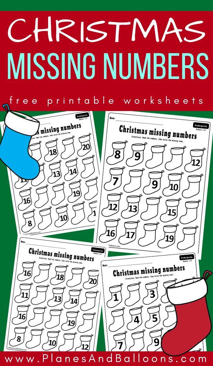 Christmas Missing Numbers Worksheets Christmas Math Kindergarten Christmas Kindergarten Kindergarten Christmas Activities [ 1200 x 700 Pixel ]