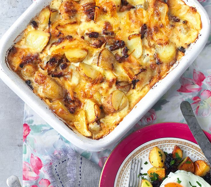 This luxurious French potato recipe is fabulous made with Jersey royals and is the perfect midweek supper.