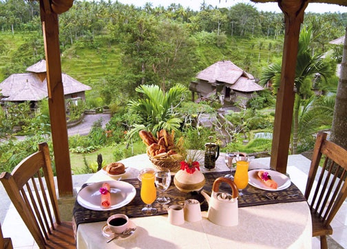 Lesung Restaurant, The Payogan Villas, Ubud Bali