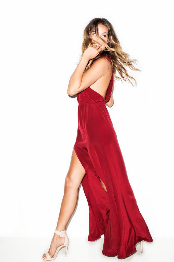 This red attracts the best....The Red Onyx Gown by Stone Cold Fox ...