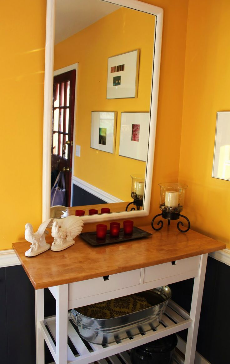 Ikea kitchen cart painted - Find This Pin And More On Ikea Roltafel Ikea Forhoja Kitchen Cart Paint