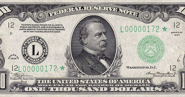 $1000 dollar bill | dollar | Pinterest | 1000 doll…