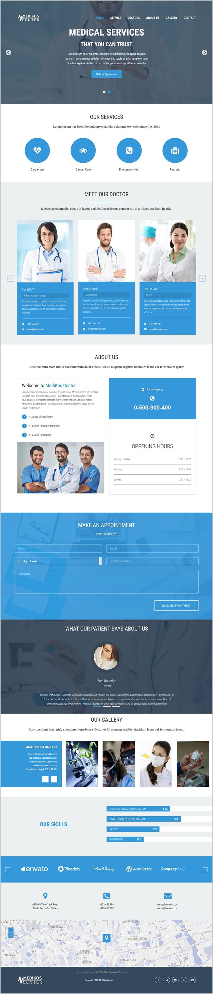 MediKos center is a wonderful responsive #HTML #Bootstrap template for perfect #medical and #healthcare landing page websites download now➩ https://themeforest.net/item/medikos-center-medical-and-health-html-landing-template/19245199?ref=Datasata