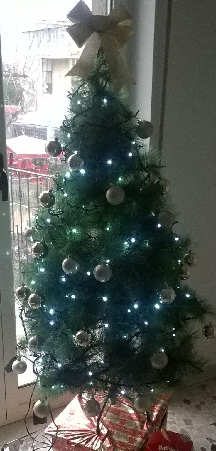 Albero di Natale in appartamento privato (2015)