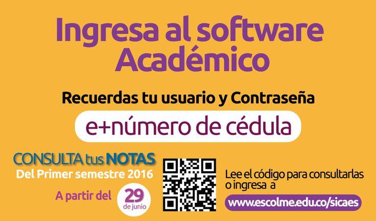 ¡consulta tus notas por el portal académico ACADEMUSOFT!