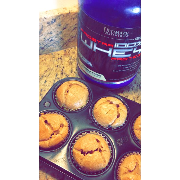 Protein cupcakes