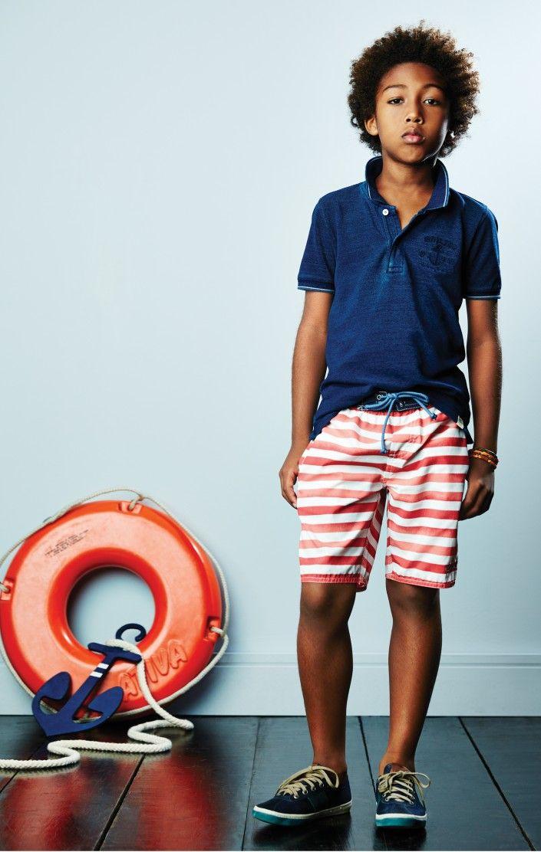 #kids #boy #style #navy