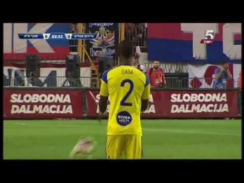 HNK Hajduk Split vs Maccabi Tel Aviv - http://www.footballreplay.net/football/2016/08/25/hnk-hajduk-split-vs-maccabi-tel-aviv-2/