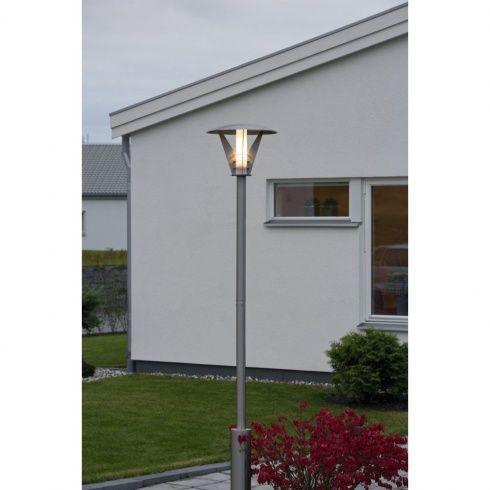 Konstsmide Livorno Single Light Low Energy Large Lamp Post In Stainless Steel