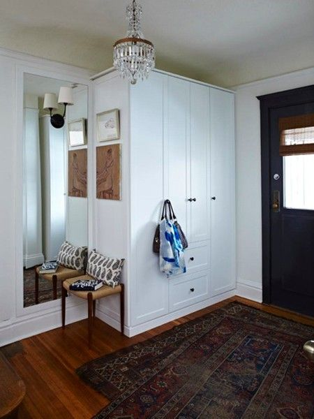 Front Foyer Storage : Ideas about front hall closet on pinterest entry