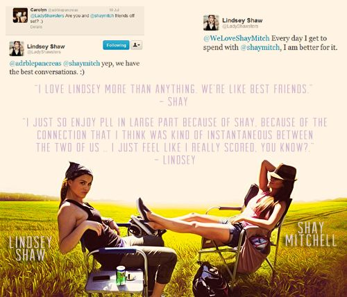 "Pretty Little Liars - Fairy Tale {Emily ღ Paige} #18: ""Timeless."" -- Lindsey Shaw, describing Paily in one word - Fan Forum"