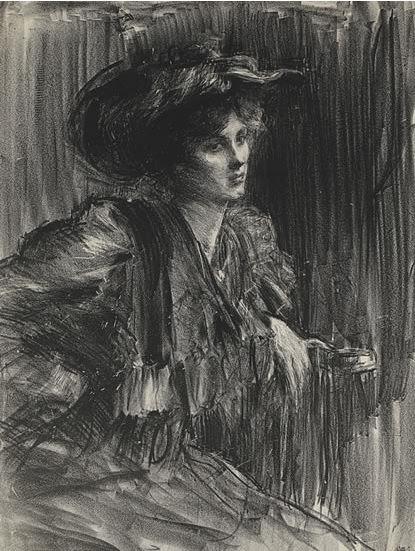 #Albert de #Belleroche Gildys #Lithograph #portrait #art m#modern #Britishart #LLFA