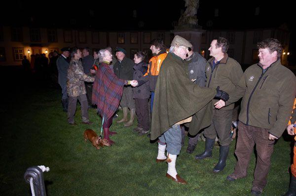 La cacería de ciervos en los bosques de Grib es una tradición y una cita obligada para la familia real danesa