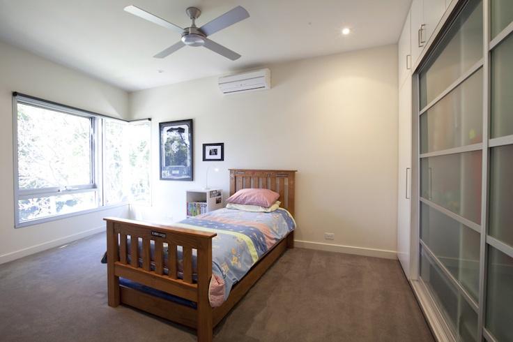 The third bedroom in Balwyn House