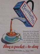 We love the typography of these 100% linen tea towels featuring Australian advertisements. Give your kitchen a nostalgia hit. Bushells Blue Label brand has been around since 1883 when Alfred Bushell opened his first Bushell's tea shop in Queensland. Size 500 x 700mm. Made in China.
