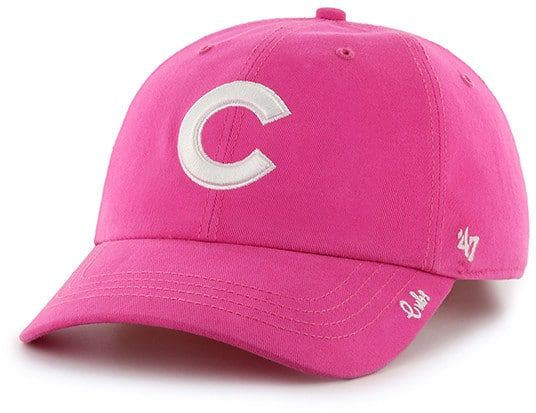 online retailer 06877 97def Chicago Cubs 47 Brand Women s Pink Miata Clean Up Adjustable Hat